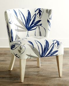 Allison Botanical Chair by Massoud at Horchow.