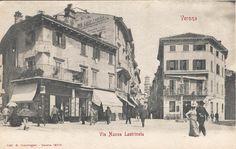 Verona - Via Nuova Lastricata (via Mazzini) - primi 900