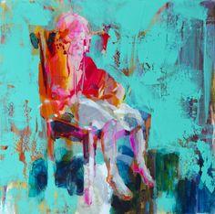 "Saatchi Art Artist Fernanda Cataldo; Painting, ""Girl experiment"" #art"