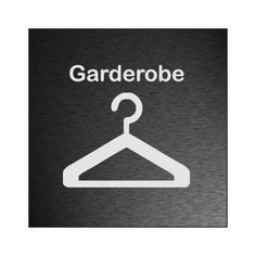 Garderobe schild  Feuerlöscher Richtungsweiser, Pfeil diagonale Schild ...
