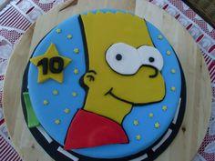 Gâteau Bart Simpson