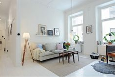 I love white spaces! It brings the light in!