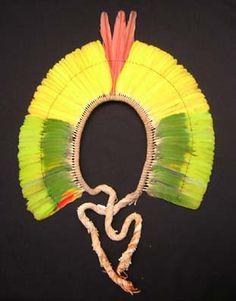 Arte indígena-cocar