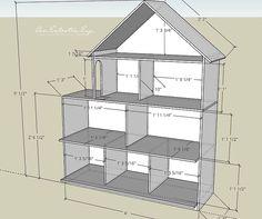 die besten 25 barbiehaus ideen auf pinterest diy. Black Bedroom Furniture Sets. Home Design Ideas
