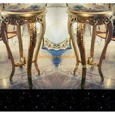 Barok bijzettafel Sahara Arabica Gold | Le Chique Wonen