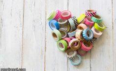 عکس های رنگی :7 ایده خوشگل سازی با نوار چسب طرحدار » رنگی رنگی