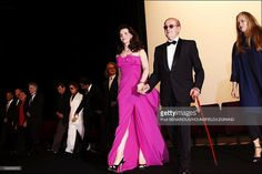 Ceremony for the 60th anniversary of Cannes International Film Festival in Cannes, France on May 20, 2007 - Juliette Binoche and Manoel de Oliveira.