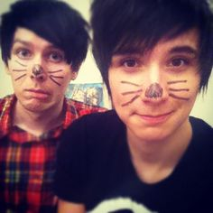 Dan and Phil! I'm mentally dating both of them :D