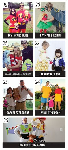 101 Family Halloween Costume Ideas. These are so, so adorable!