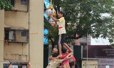 Dahi Handi By Kids