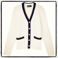Ralph Lauren Wimbledon collection knit