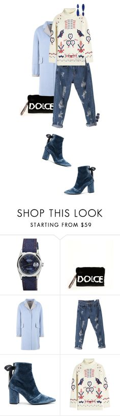 """""""235"""" by whereitleads ❤ liked on Polyvore featuring Rolex, Dolce&Gabbana, YOJ, self-portrait, Claudia Schiffer and Pamela Love"""