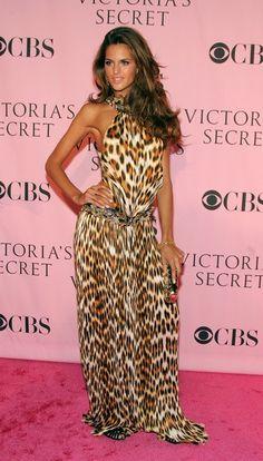 Model Izabel Goulart arrives at the Victoria's Secret Fashion Show held at the…