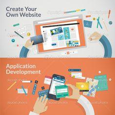 material design illustration - Поиск в Google