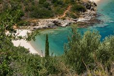 Mooi mediterraans strand van Miranda van Hulst