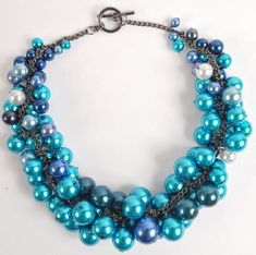 Chunky Pearl Necklace Tutorial
