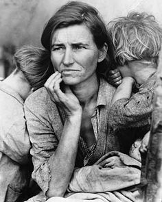 Florence Owens Thompson, born Florence Leona Christie, was the subject of Dorothea Lange's photo Migrant Mother, an iconic image of the Great Depression.