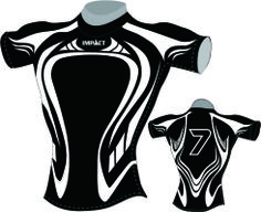 Impact Sublimated Rugby Jersey | SportClub - Northland, supplier of quality sporting equipment to schools and clubs Rugby Jersey Design, Underwater Rugby, Volleyball Jerseys, Mens Tights, Uniform Design, Sport Wear, Sports Equipment, Sport Fashion, Shirt Designs