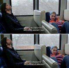 Eternal Sunshine of the Spotless Mind Sad Movies, Series Movies, Movie Tv, Cult Movies, Movie Characters, Tv Show Quotes, Film Quotes, Peaky Blinders Quotes, Best Movie Lines
