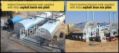 Our new blog on some facts on bitumen tanks.  #ConstructionEquipment  #RoadConstruction  #ConstructionIndustry