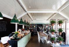 A nostalgic garden cafe in South Yarra's historic Como House.