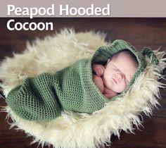 free newborn cocoon crochet pattern - Google Search