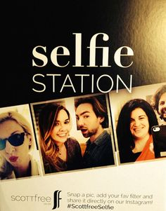 So cute! Let your clients take a selfie and do the marketing for you