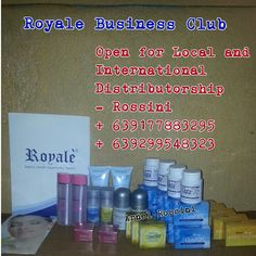 Royale Beauty and Wellness products by Arnel and Rossini B