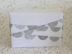 Recycle Gift Wrap via homework (8)