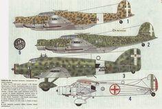 Regia Aeronautica, vari Savoia Marchetti.