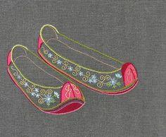 #야생화자수 #꽃신 #꿈소 #꿈을짓는바느질공작소 #embroidery #flowershoes Embroidery Fabric, Embroidery Stitches, Embroidery Designs, Cross Stitch Designs, Stitch Patterns, Manolo Blahnik, Fiber Art, Needlepoint, Fabric Design