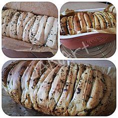 ...svet okolo mňa ...: Trhací bylinkový chlebík z lievito madre... Baked Potato, Potatoes, Bread, Baking, Ethnic Recipes, Food, Basket, Bread Baking, Potato