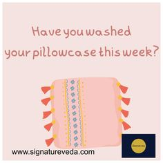Have you washed your pillowcase this week? #goodskincarepractice #healthyskin #wellness #naturalskincare #skincare #selfcare #selflove www.signatureveda.com Good Skin, Self Care, Natural Skin Care, Healthy Skin, Pillow Cases, Skincare, Perfume, Wellness, Skincare Routine