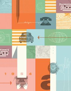 Fossil Brand Poster. Objects! #web5 #week13