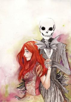 Jack and Sally how cute ^-^