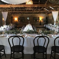 And back towards the dance floor! So pretty! Shed, Restaurant, Flooring, Dance, Table Decorations, Weddings, Pretty, Furniture, Home Decor