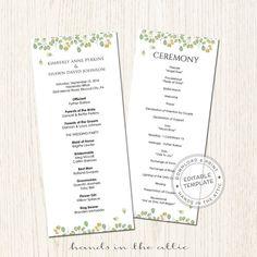 wedding program schedule koni polycode co
