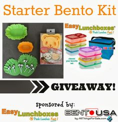 1000 images about giveaways on pinterest bento lunch containers and enter. Black Bedroom Furniture Sets. Home Design Ideas