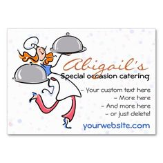 The 206 best catering business cards images on pinterest catering catering personal gourmet chef template business card reheart Choice Image