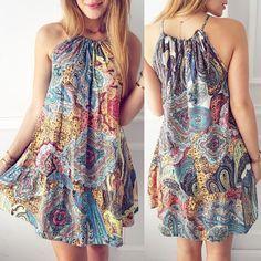 Vestid Boho Style Dresses, Casual Dresses, Fashion Dresses, Summer Dresses, Mini Dresses, Beach Dresses, Boho Stil, Dress Patterns, Ideias Fashion