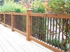 Beautiful Cheap Deck Railing 9 Deck Railing Ideas DECK
