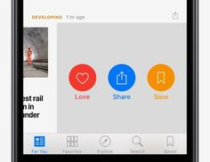 Share News with a swipe - iOS 10 Tips and Tricks for iPhone - Apple Support
