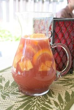 Sangria with Pineapple & Guava - YUM!!!