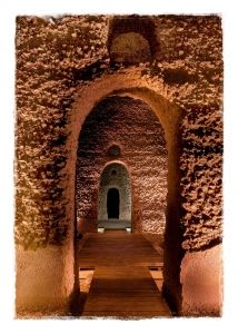 *SPAIN~Monturgue(a city located in the province of Córdoba,Spain)Cemetery extends an interesting set of underground constructions discovered in1885,that ProfessorP.J.Lacort estimates were tanks to store water.Mine,as they are called in the village,are made up of12chambers w/barrel vaults+distributed in3parallel ships,w/circular openings at the top.