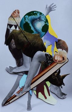 http://lespapierscolles.wordpress.com/2013/04/16/dennis-busch/  Dennis Busch #collage #illustration #graphisme #art