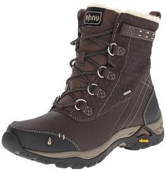 Ahnu Women's Twain Harte Insulated WP Boot * You can find out more details at the link of the image.