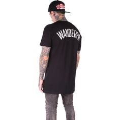 Wanderer T-shirt black | The Wandering