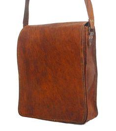 Men's New Fashion Genuine Vintage Brown Leather Messenger Shoulder Laptop Bag Real Leather, Leather Men, Leather Bags, Leather Crossbody, Crossbody Bag, Laptop Shoulder Bag, Laptop Bag, Vintage Leather Messenger Bag, Satchel