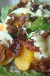 Breakfast Salad and 3 Spoon Dressing (GAPS : grain-free : gluten-free : primal : paleo) paleo breakfast salad