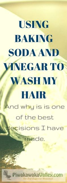 I have not looked back from going no poo - my hair is more shiney, less greasy and less dry on the ends. Washing your hair with baking soda is simple and effective, without shampoo, shampoo alternatives. #piwakawakavalley #zerowaste Baking Soda For Dandruff, Baking Soda For Hair, Baking Soda Shampoo, Baking Soda Uses, Dry Shampoo, Clarifying Shampoo, Honey Shampoo, Simple Shampoo, Shampoo Alternative
